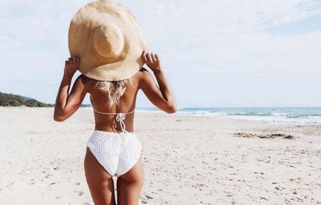 жена плаж лято море бански тяло
