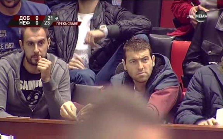 Вальо Братоев наблюдава двубоя за Суперкупата на България