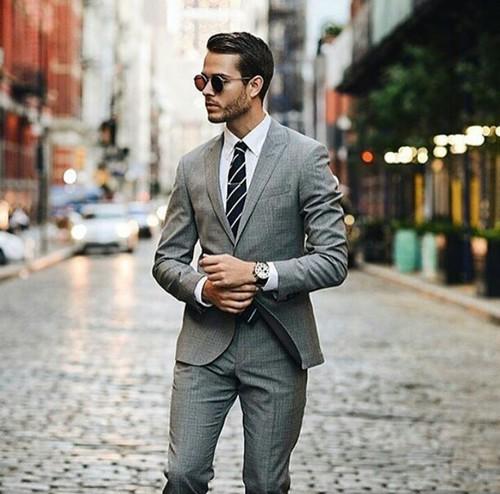 Мъж мода костюм