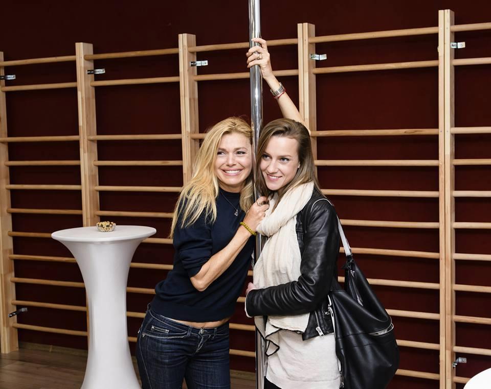 На откриването на своя дамски клуб с Дария Симеонова
