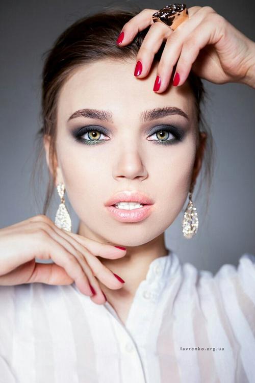 жена красота