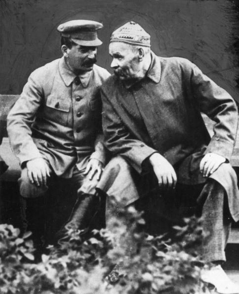 Максим Горки и Сталин
