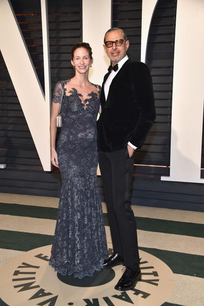 Джеф Голдблум и съпругата му Емили Ливингстън