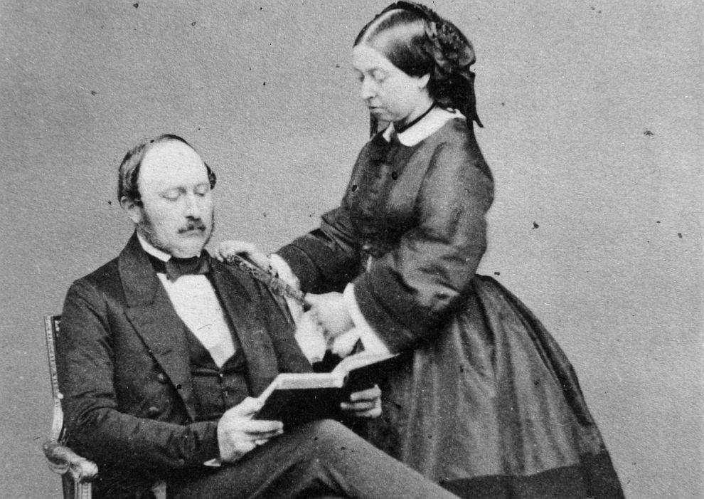 Кралица Виктория със съпруга си принц Албърт