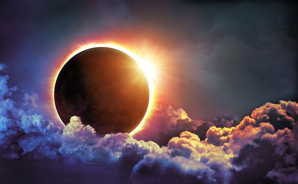 Резултат с изображение за слънчево затъмнение