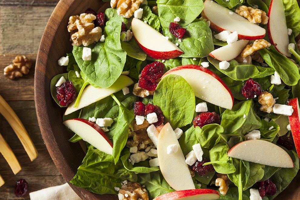 При двойно количество мазнина се удвоява и усвояването на витамини