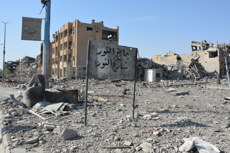 """Така изглежда сирийският град Ракка след тригодишната власт на """"Ислямска държава"""" и няколкомесечните американски бомбардировки"""