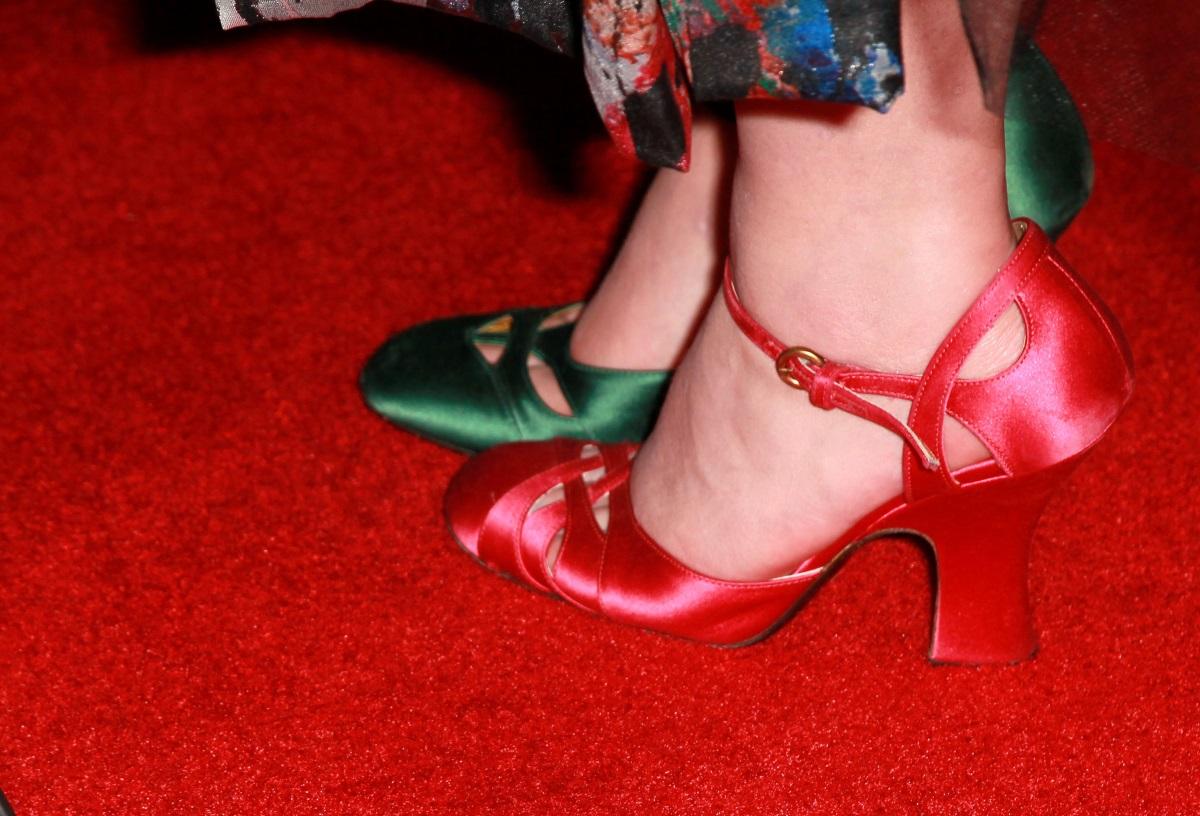 """Актрисата Хелена Бонам на наградите """"Златен глобус"""" през 2011 г."""
