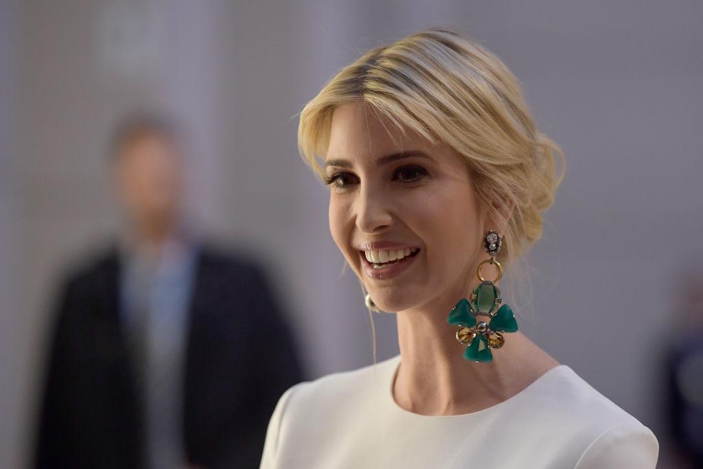 Иванка Тръмп - дъщерята на американския президент Доналд Тръмп.