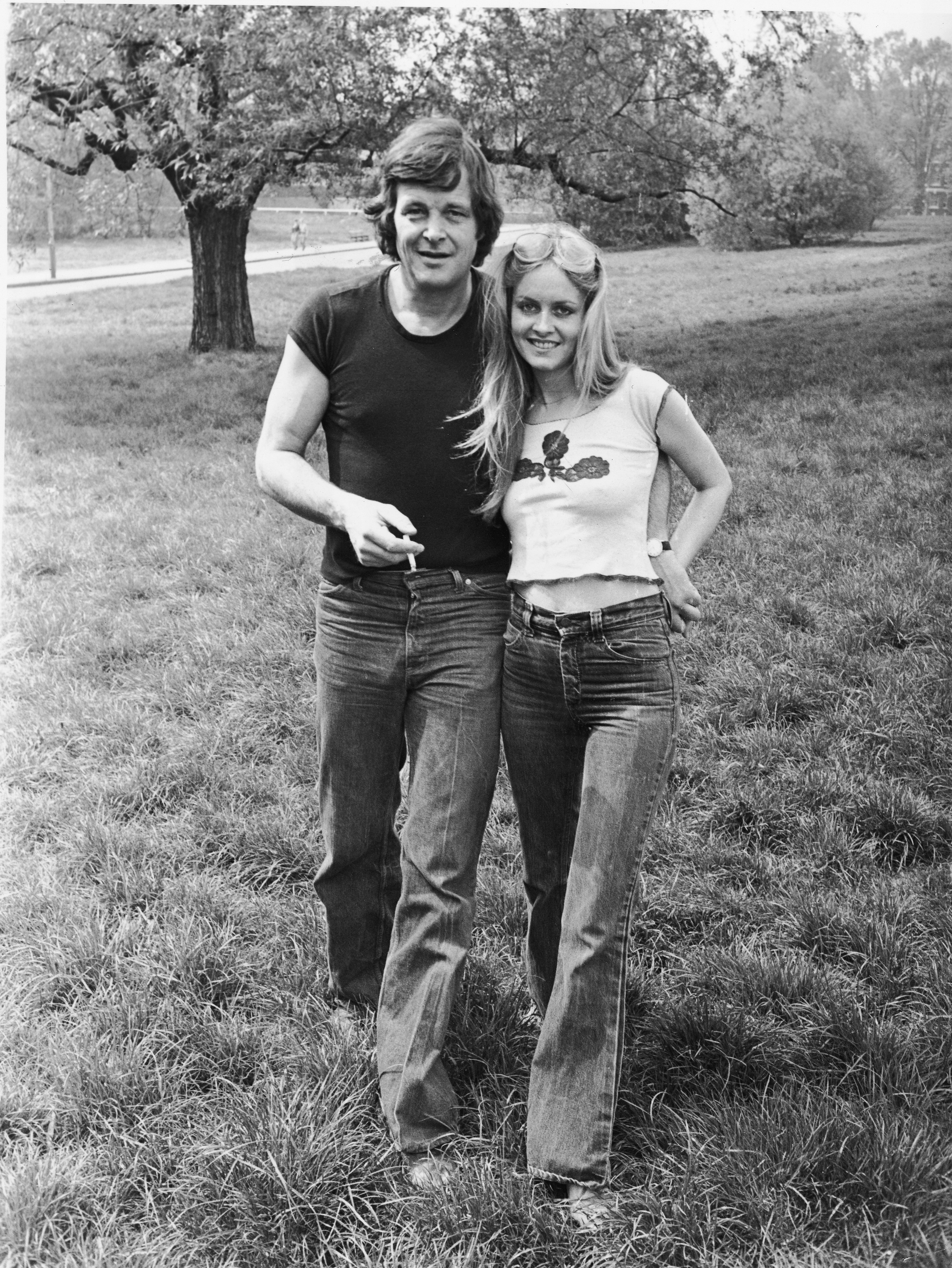 1983 г.,дънките и обикновените тениски