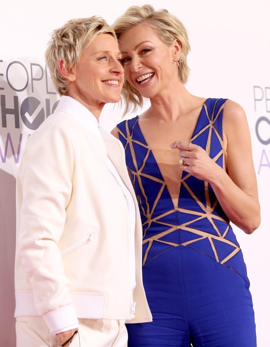 Елън Джедженерис и Порша Дероси са една от н ай-известните двойки.