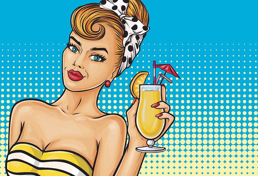 коктейл жена алкохол
