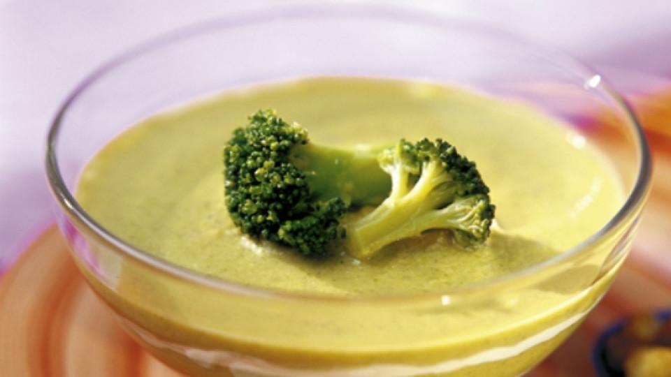 супа броколи сирене