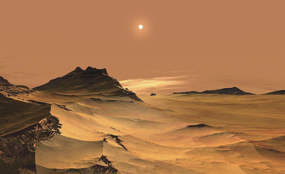 Големи залежи от лед се показаха на повърхността на Марс (СНИМКИ ...