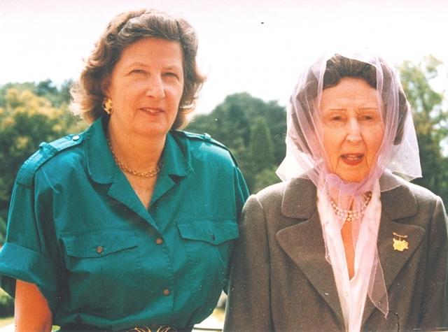 Кадри от живота на княгиня Мария Луиза