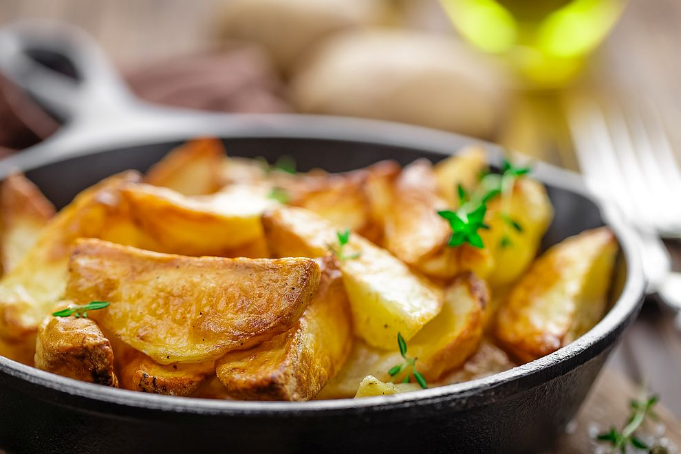 Картофите са отличен източник на много витамини