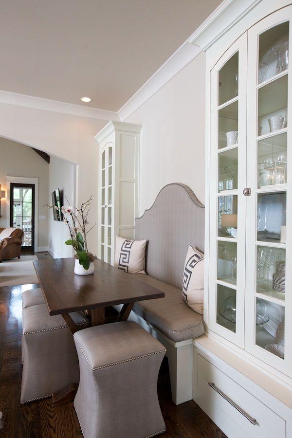 Кухненският ъгъл за сядане е най-уютната част от дома