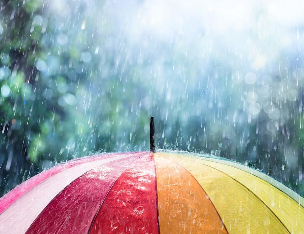 дъжд чадър