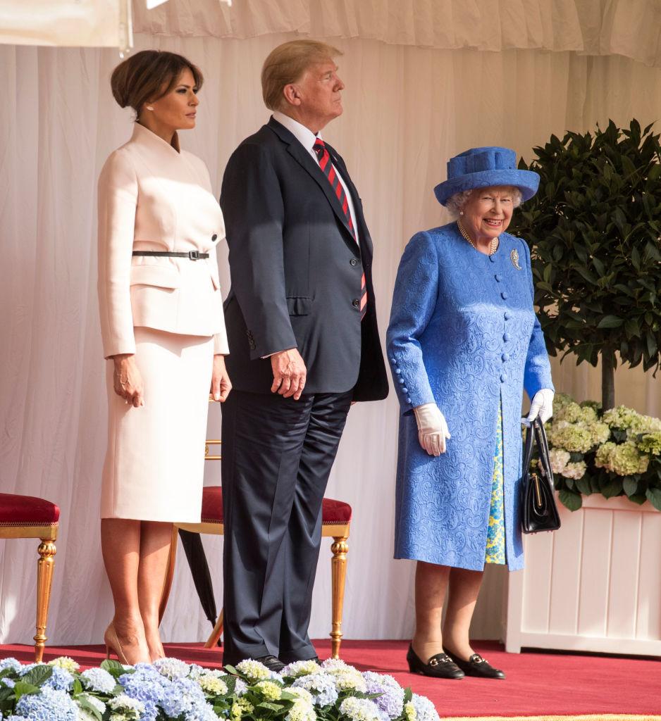 кралица Елизабет Мелания Тръмп