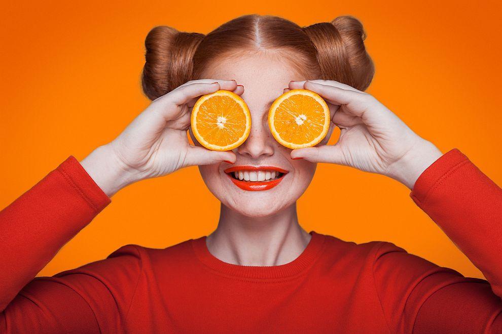Изследванията за ползата от портокалите досега са били предимно за ефекта на съдържащите се в тях витамини С, А и Е върху очите