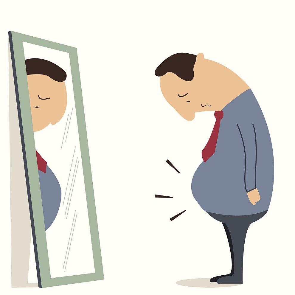 Желаещите да отслабнат трябва активно да използват силата на мисълта