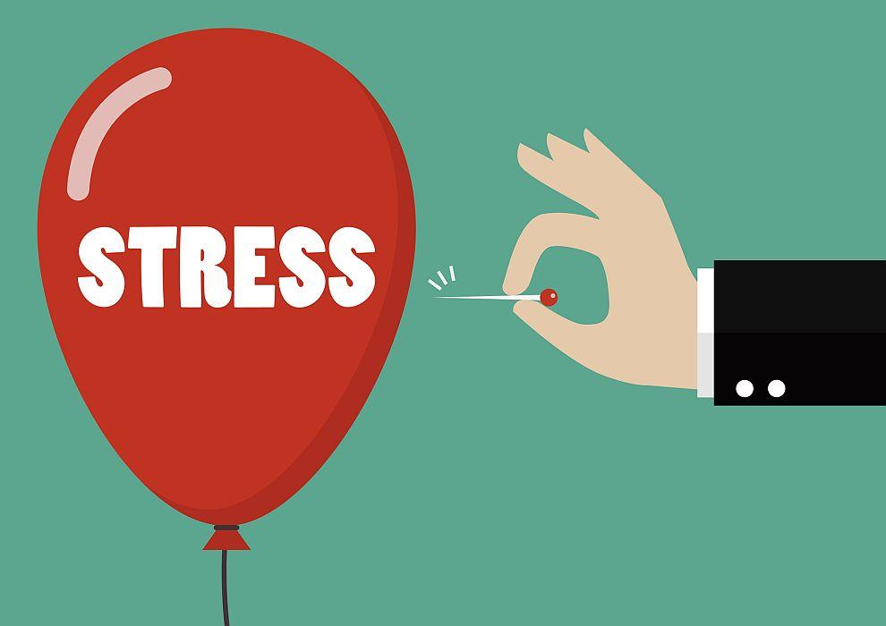 В по-късните часове човешкият организъм произвежда по-малки количества от хормон, който потиска стреса