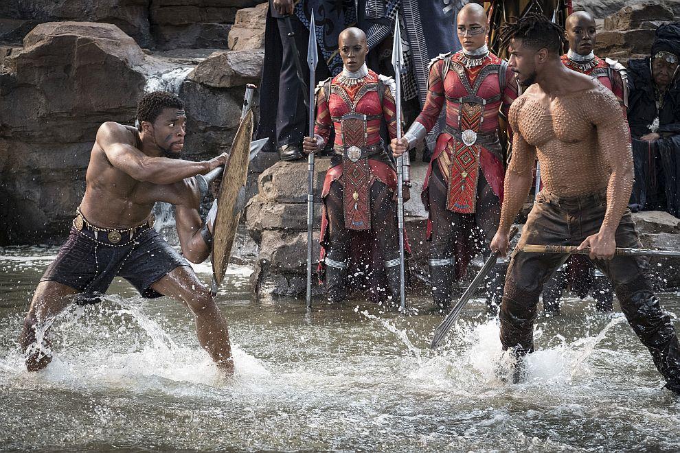 Черната пантера на Marvvel е първата супергеройска продукция в историята на Оскарите, номинирана в категорията за най-добър филм
