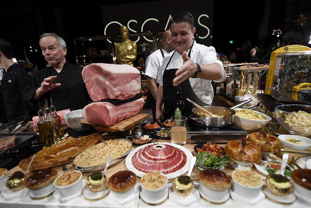 Звездният кулинар Волфганг Пук от 25 години гощава знаменитостите след церемонията за наградите Оскар
