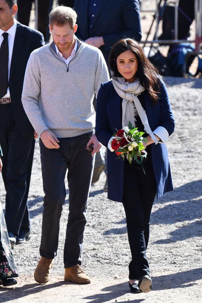 Меган и Хари в Мароко
