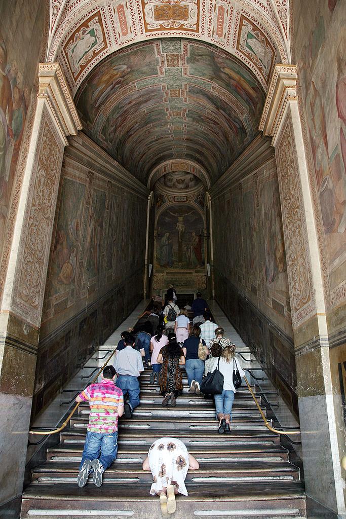 Scala Sancta Светите стъпъла в Рим