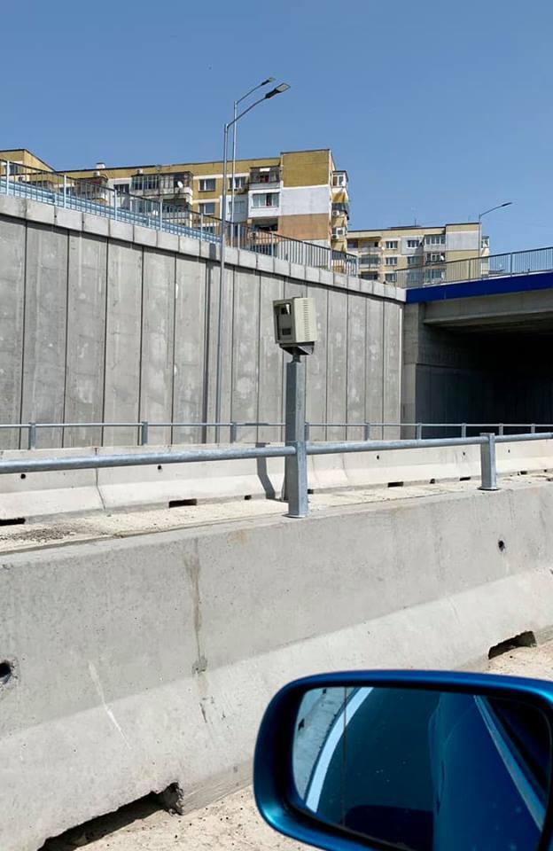 Сложиха камера за скорост на новия булевард