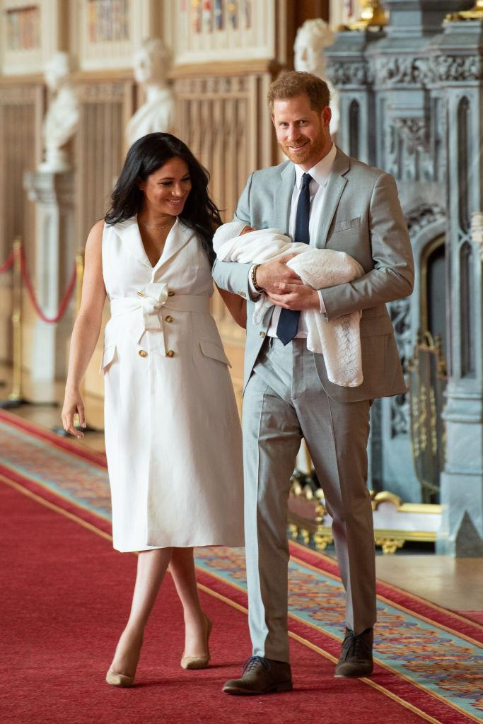 меган маркъл принц хари бебе