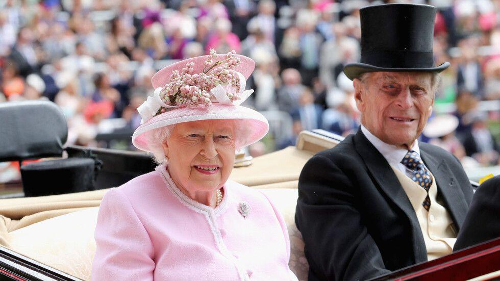 Елизабет Втора и принц Филип