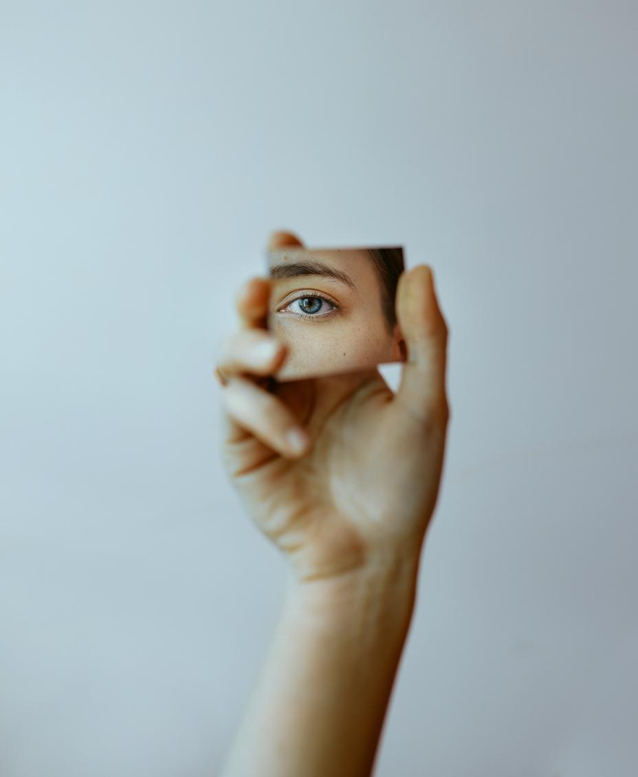 очи огледало