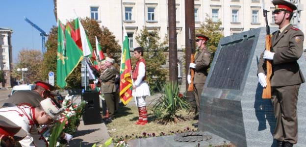 """Паметникът на независимостта, намиращ се на площад """"Княз Александър I"""" в София"""